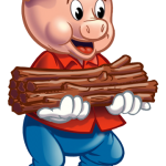 150x150 Three Little Pigs Clipart