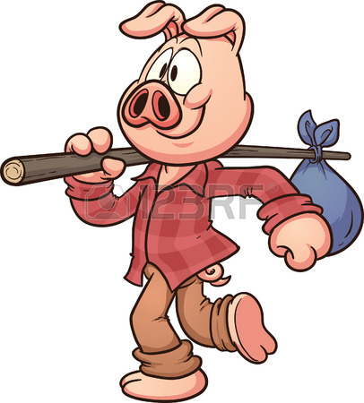 406x450 Three Little Pigs Royalty Free Cliparts, Vectors, And Stock