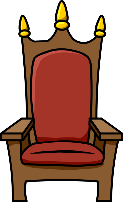 500x820 Throne Clipart Royal