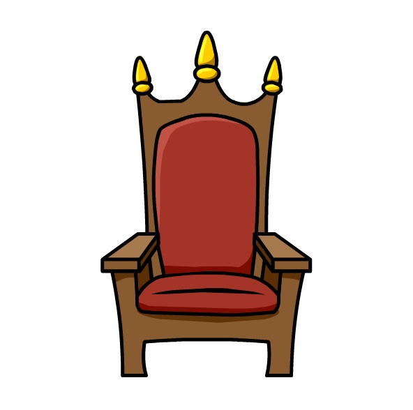 592x588 Chair Clipart Queen