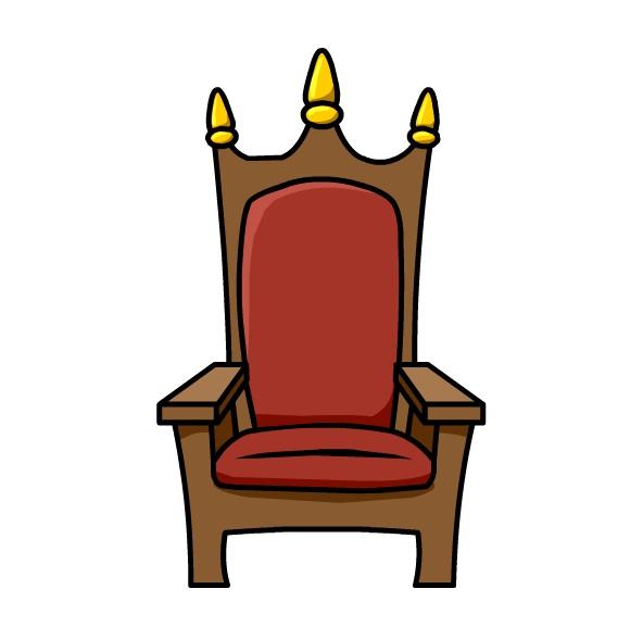 592x588 Chair Clipart Queen