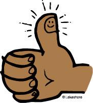 182x202 Thumb Clip Art