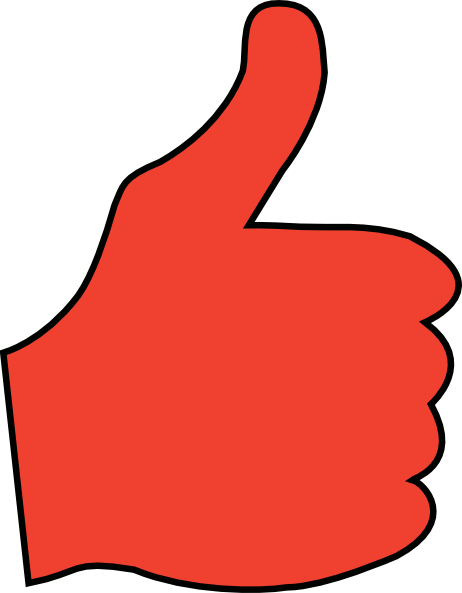 462x593 Thumbs Up Clip Art
