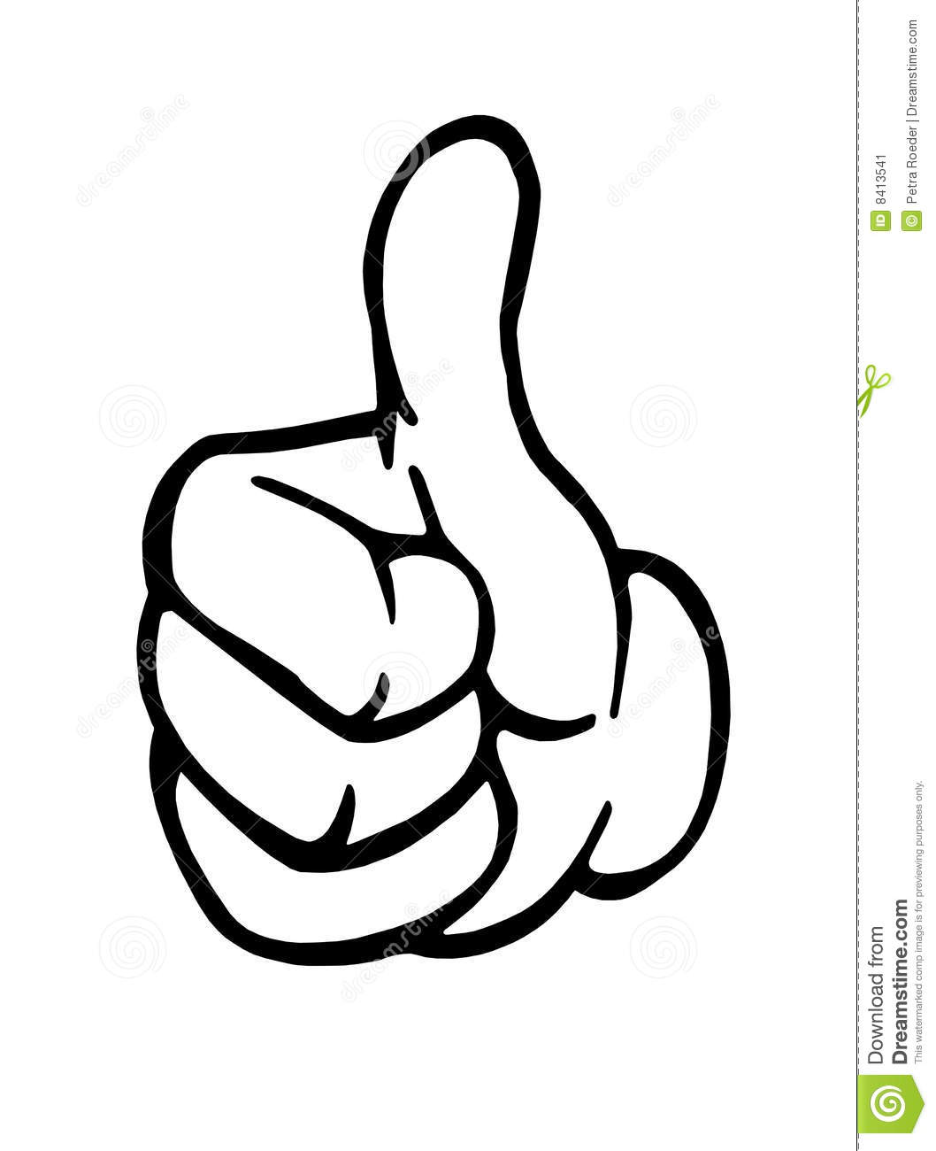 1058x1300 Thumbs up hand clipart