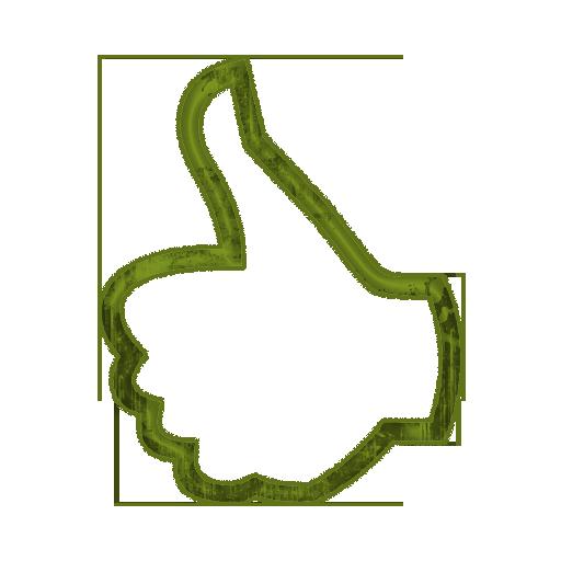 512x512 Thumbs up thumb clip art clipart 2 3