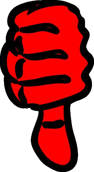 324x594 Thumbs Down Clip Art