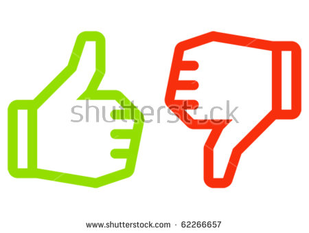 450x339 Thumbs Up And Thumbs Down Clipart
