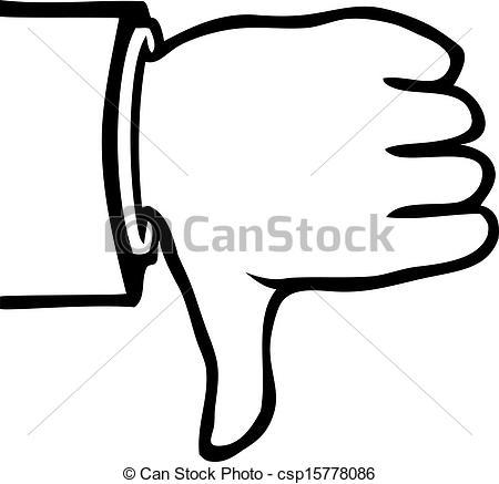 450x437 Thumbs Down Clip Art