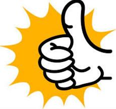 230x216 Free Thumbs Up Clipart