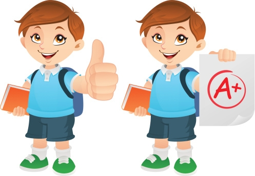 497x344 Student Thumbs Up Clipart
