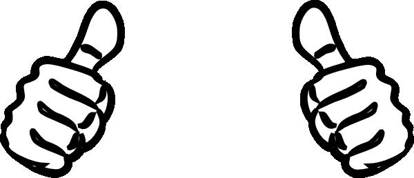 600x258 Symbol Thumbs Up Clip Art Vector Free Clipart 2