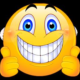 256x256 Thumbs Up Emoji Text