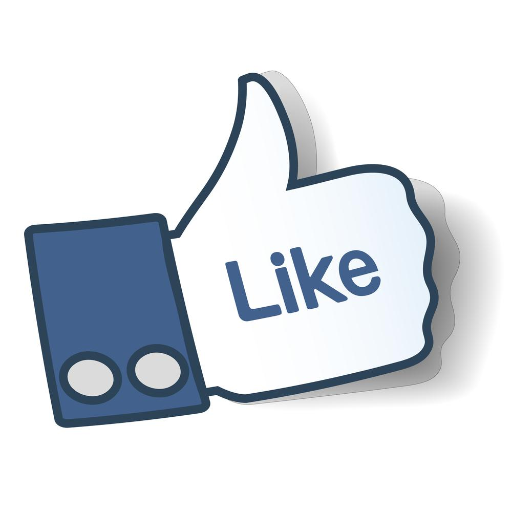 1000x1000 Facebook Thumbs Up Clipart