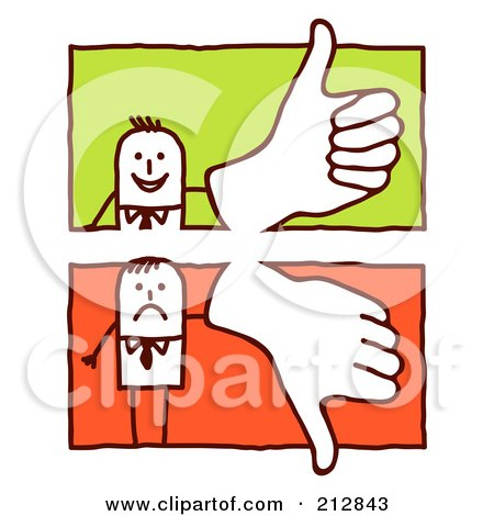 450x470 Royalty Free Vector Cliprt Illustration Of Stick Man Giving