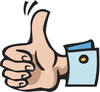 350x323 Thumbs Up Clip Art Clipart 3