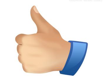 350x280 Thumbs Up Thumb Clip Art