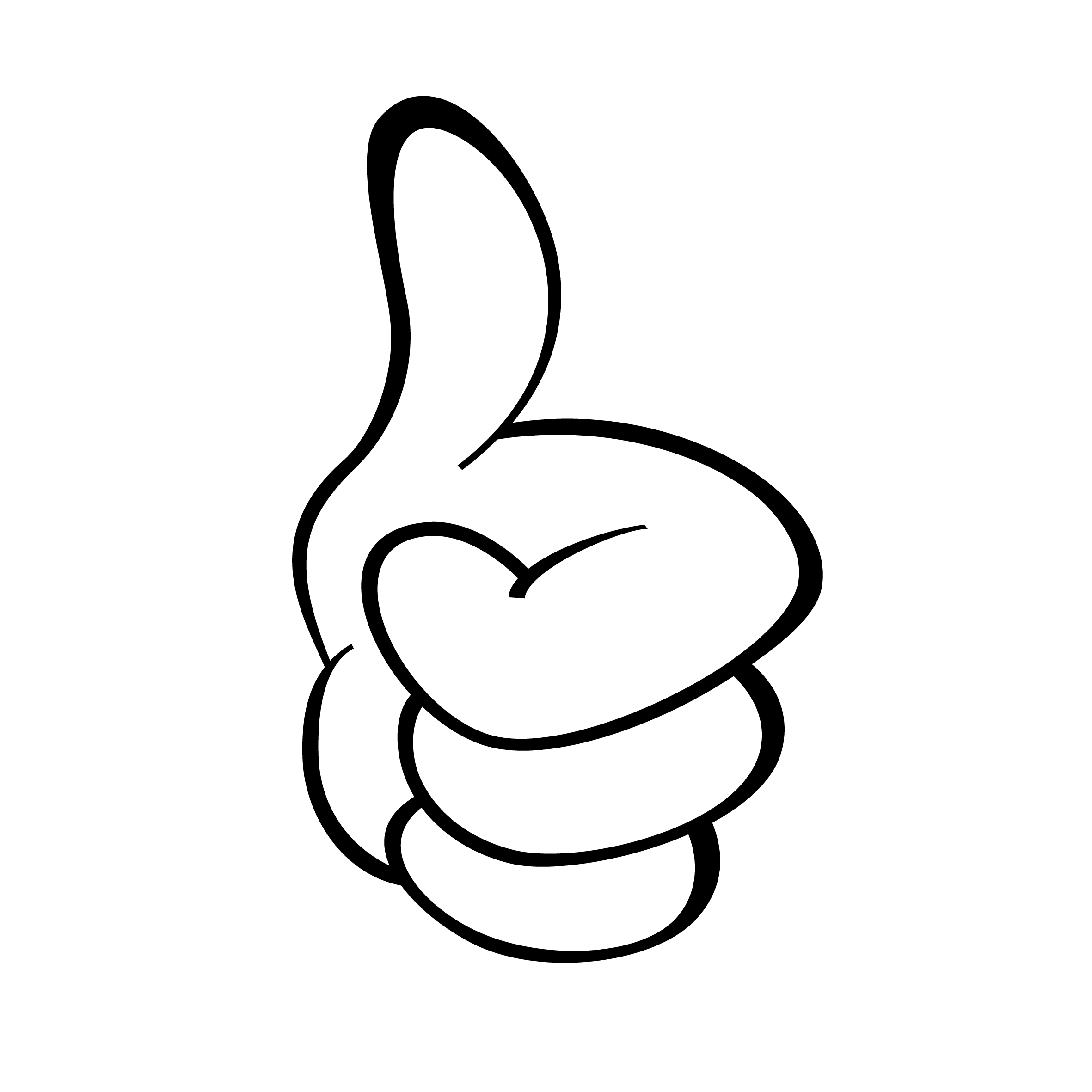 2362x2362 This Guy Two Thumbs Up Clipart