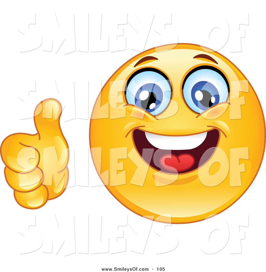 1024x1044 Vector Smiley Cliaprt Of A Yellow Smiley Face Holding A Thumb Up
