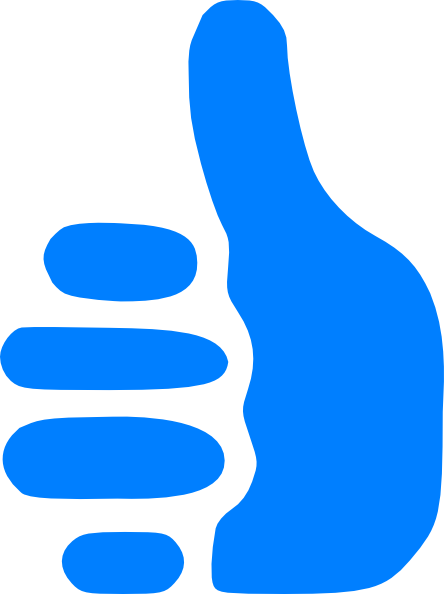 444x594 Star Thumbs Up Clipart