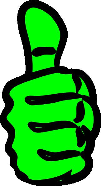 324x594 Thumbs Up Clip Art Free Vector 4vector