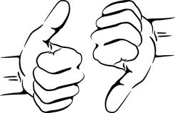 246x160 Clipart Thumbs Up Silhouette