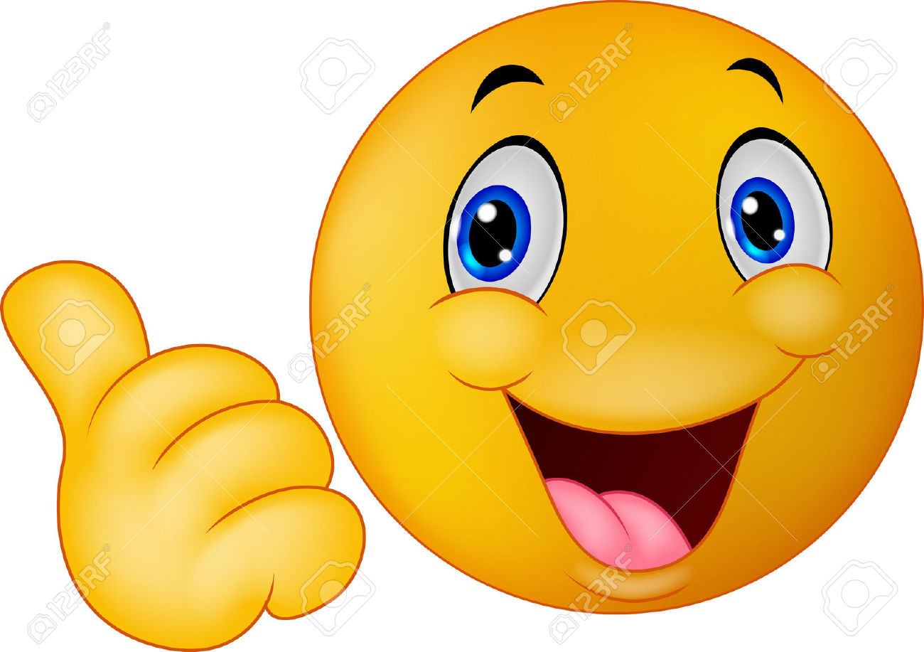 1300x917 Smiley Face Clip Art Thumbs Up