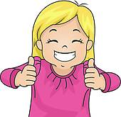 170x165 Clipart Of Two Thumbs Up K5371655