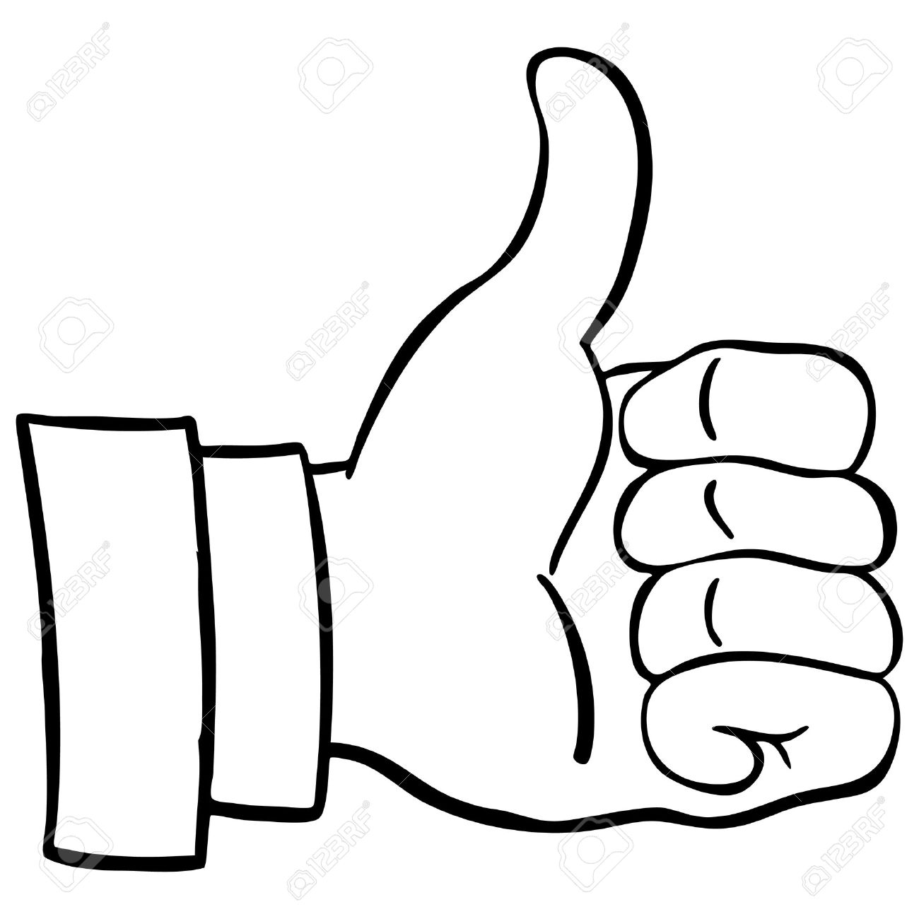 Thumbs Up Clipart Black And White Free Download Best Thumbs Up