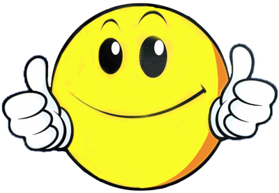 400x277 Smiley Face Thumbs Up