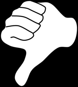 270x299 Thumb Clip Art