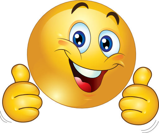 512x430 Smiley Face Clip Art Thumbs Up Free Clipart Images 3