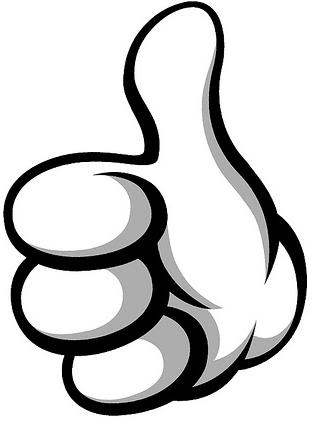 313x435 This Guy Two Thumbs Up Clipart