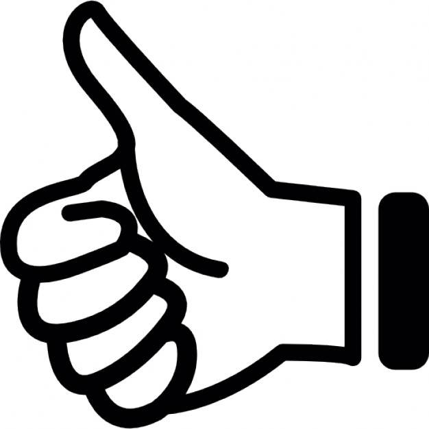 626x626 Picture Of A Thumbs Up Clipart