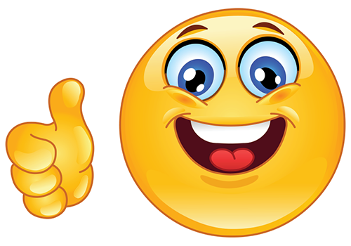 500x350 Smiley Face Thumbs Up Smiley Face Clip Art Thumbs Up Free Clipart
