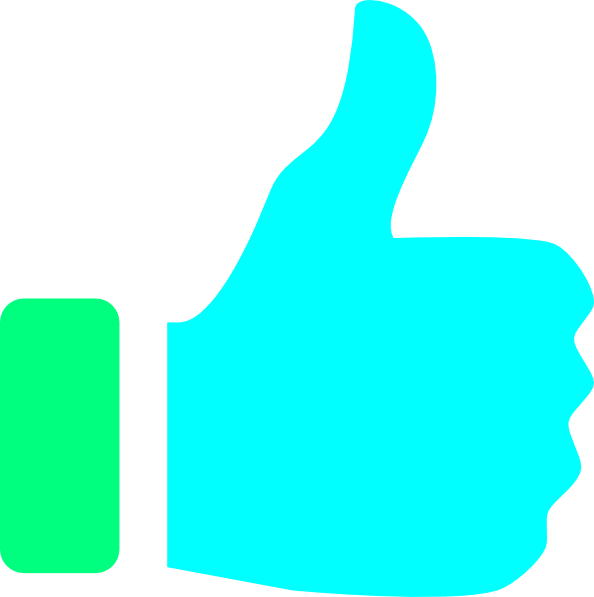 594x597 Thumbs Up Clip Art