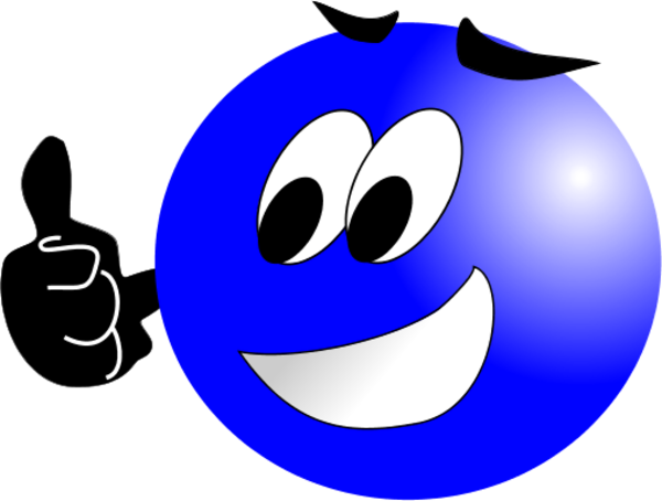 600x454 Smiley Face Clip Art Thumbs Up Large Smiley Face Making Thumbs Up