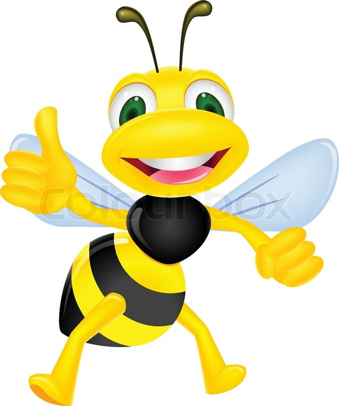 669x800 Bees Clipart Thumbs Up