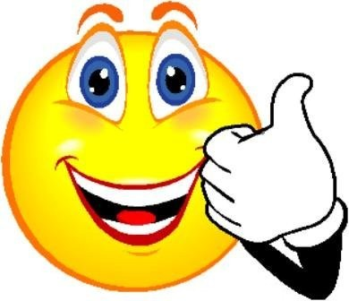 390x336 Thumbs Up Smiley Face Clip Art Clipart Panda
