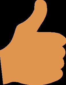231x297 Thumbs Up Clip Art