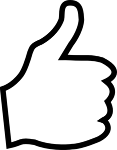 234x298 Thumbs Up Images Clip Art