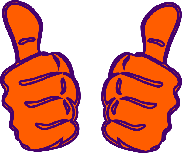 600x505 Two Thumbs Up Clipart