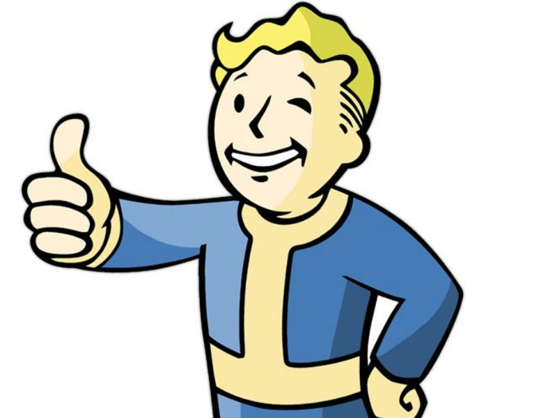 800x600 Fallout Clipart Thumbs Up
