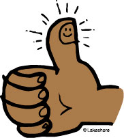 182x202 Free Clipart Thumbs Up