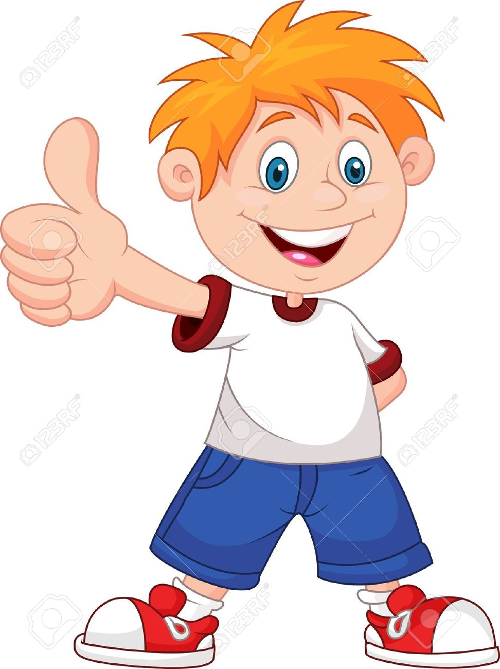 972x1300 Kids Thumbs Up Clipart