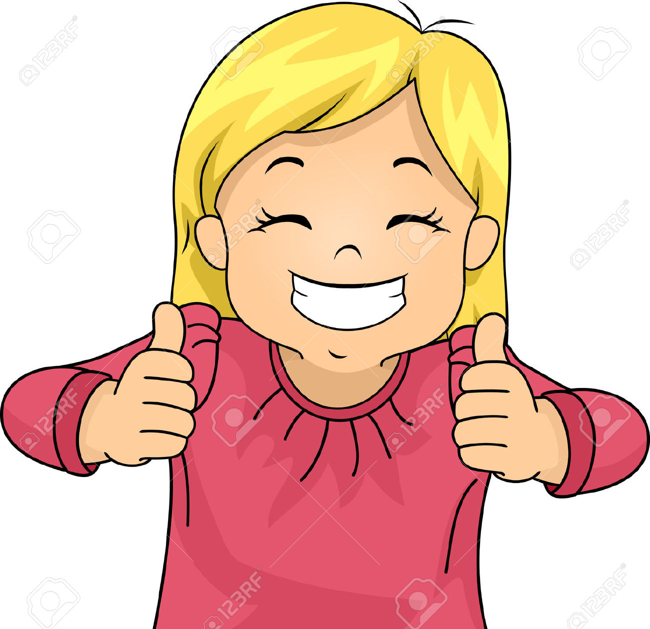 1300x1258 Baby Girl Thumbs Up Clipart
