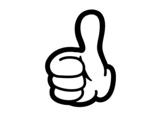 340x270 Mickey Mouse Clipart Thumbs Up