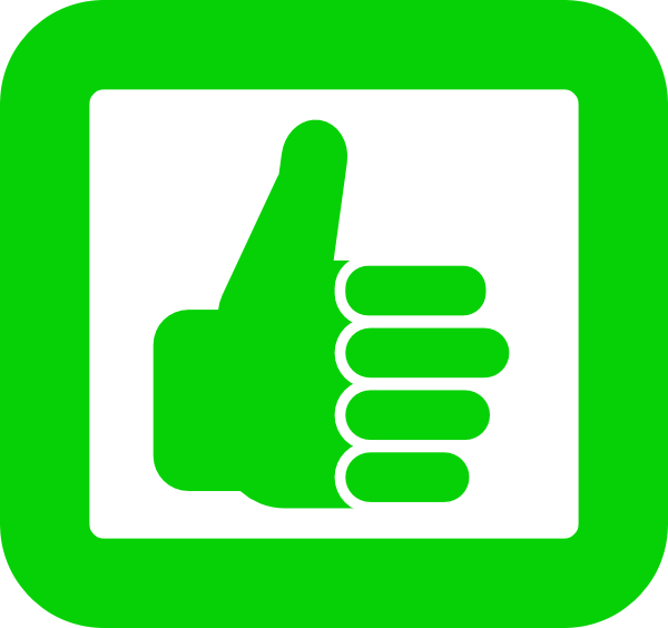600x564 Smile Thumbs Up Clip Art Clipart Image 0