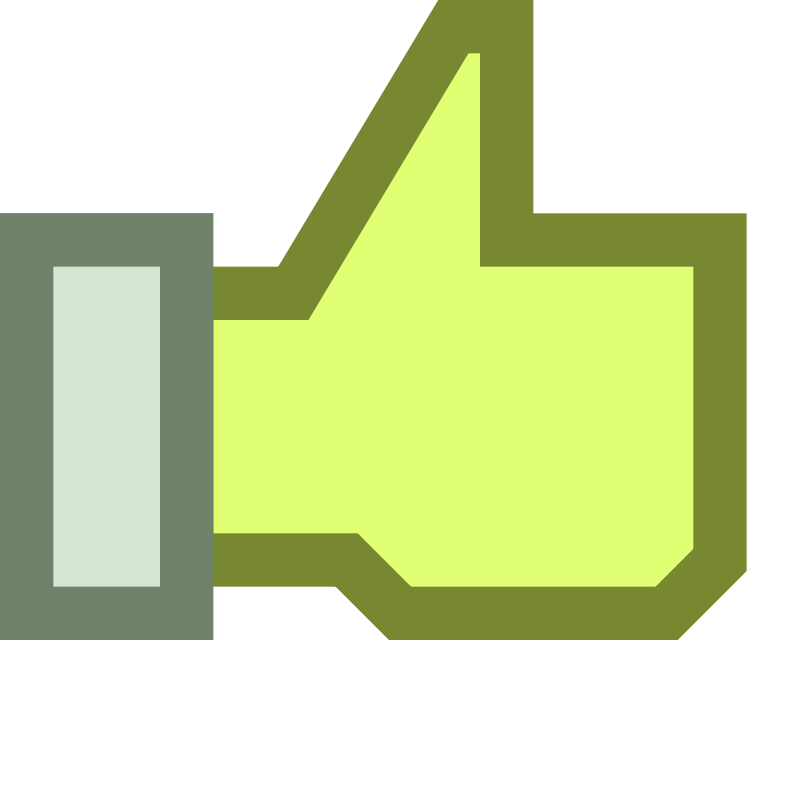 800x800 Thumbs Up Graphic