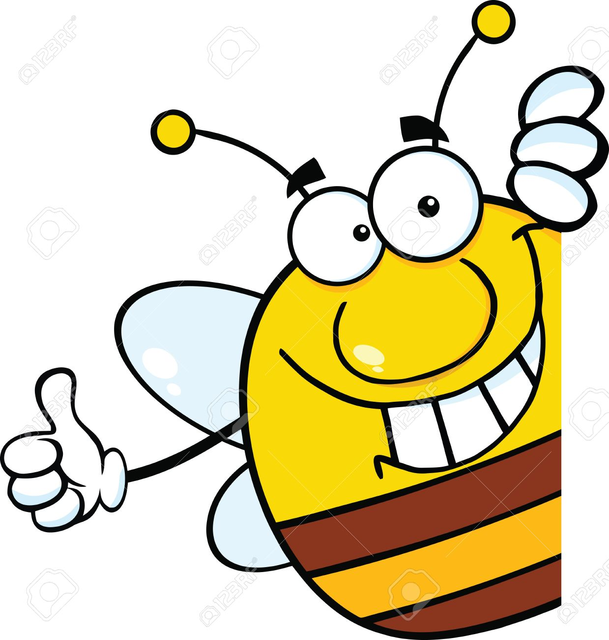 1239x1300 Bees Clipart Thumbs Up