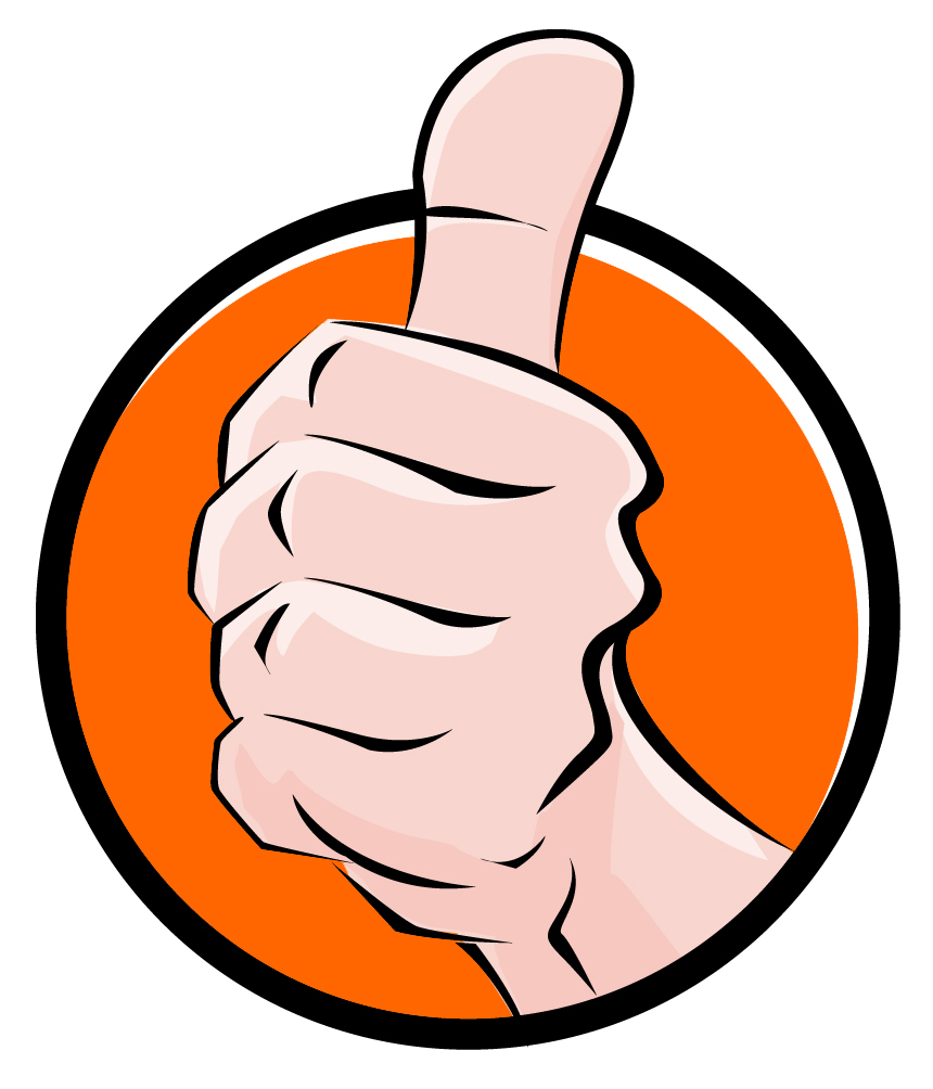 860x1004 Thumbs Up Good Job Clipart Collection